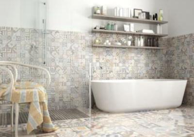 this image shows folsom bathroom floor shower ideas in folsom, california