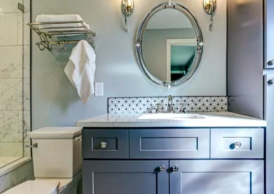 this picture shows vanity countertop in folsom, california