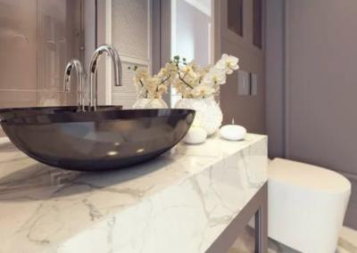 this image shows folsom countertopsfor bathroom remodel