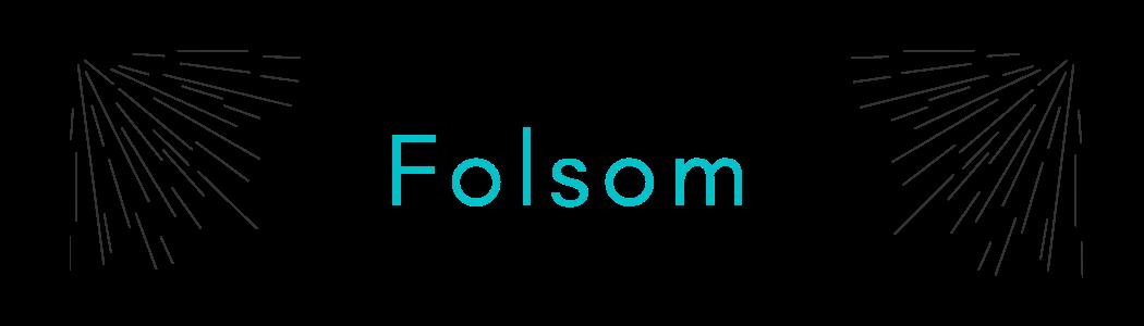 this image shows folsom tile logo